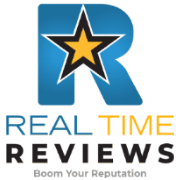 Real Time Reviews Logo Dark